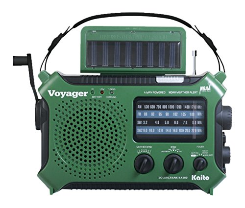 Kaito-KA500GRN-5-Way-Powered-Emergency-AM-FM-SW-Weather-Alert-Radio