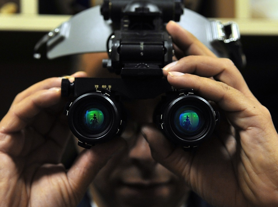 Night Vision Goggles with Helmets