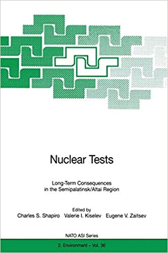 Nuclear Tests  Long-Term Consequences in the Semipalatinsk Altai Region