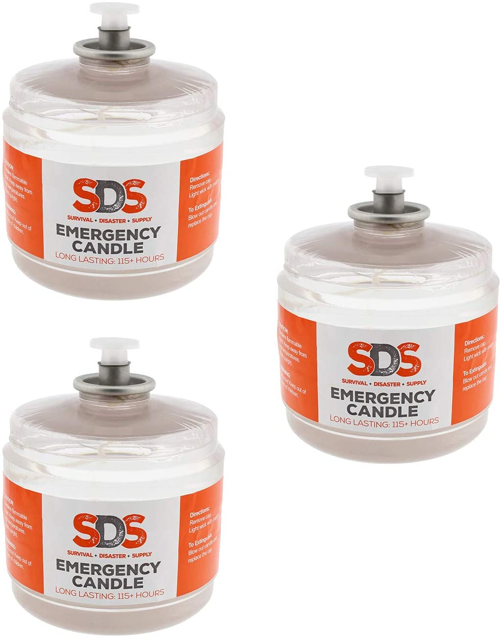 SDS Liquid Oil Candles Votive Candle Fuel Survival Candles Long Burning Candles for Emergency Candle 115 Hours